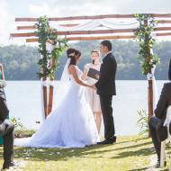Janna and Robert, Lake Barrine, October 2013, Cairns Civil Marriage Celebrant, Melanie Serafin