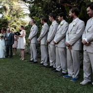 Large Wedding Party, Whitfield House, Cairns Civil Marriage Celebrant, Melanie Serafin