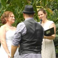 Gill and Joe, December 2012, Cairns Marriage Celebrant Melanie Serafin