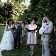 Carly and Ben, September 2012, Cairns Marriage Celebrant Melanie Serafin