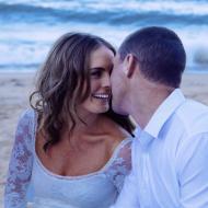 Leanne and James, November 2014, Trinity Beach Wedding, Cairns Civil Marriage Celebrant, Melanie Serafin