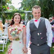 Kate and Jay, Peppers Palm Cove, May 2014, Cairns Civil Marriage Celebrant, Melanie Serafin