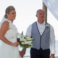 Lindsey and Phil, Kewarra Beach Resort, September 2013, Cairns Civil Marriage Celebrant, Melanie Serafin