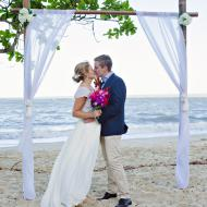 Mary and Rob, Palm Cove, October 2014, Cairns Civil Marriage Celebrant, Melanie Serafin