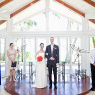 Japanese / Australian Wedding with South Pacific Bridal at Angsana Chapel Palm Cove, Cairns Civil Marriage Celebrant, Melanie Serafin